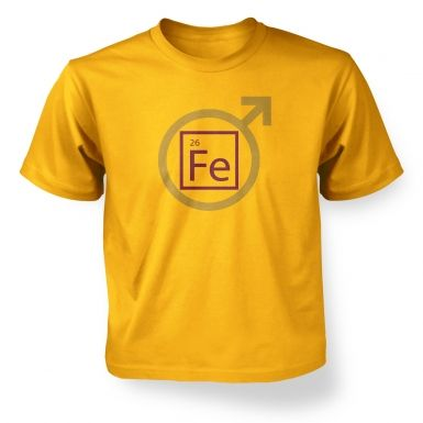 Fe Man kids' t-shirt