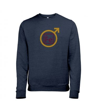 Fe Man Adult Mens Heather Sweatshirt