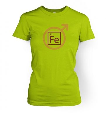 Fe Man womens fitted t-shirt