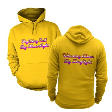 Fighting Evil Winning Love (Front and Back) hoodie
