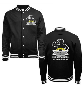 Fight Milk one tone college jacket