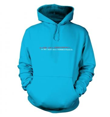 First Law Of Thermodynamics hoodie