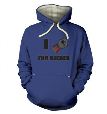 Fist I Cut For Bieber Premium Hoodie