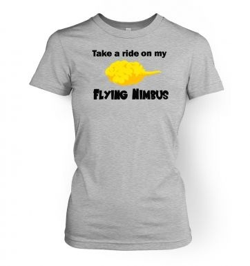 Flying Nimbus  womens t-shirt
