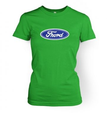 Fnord (logo)   womens t-shirt