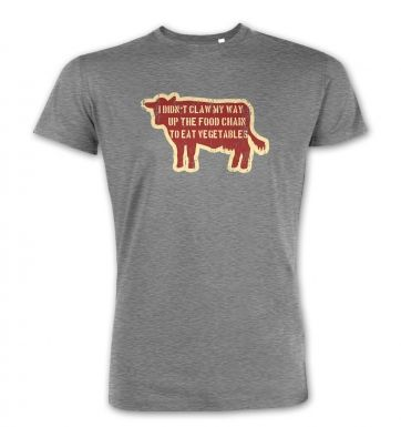 Food Chain Vegetables premium t-shirt