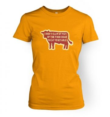 Food Chain Vegetables women's t-shirt