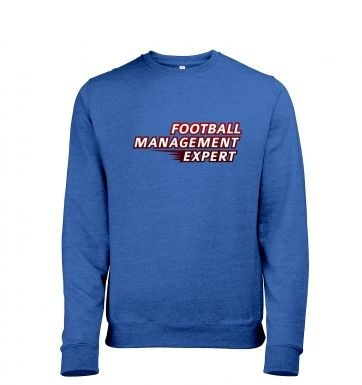 Football Management Expert heather sweatshirt