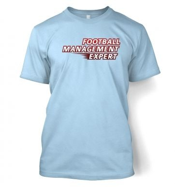 Football Management Expert t-shirt