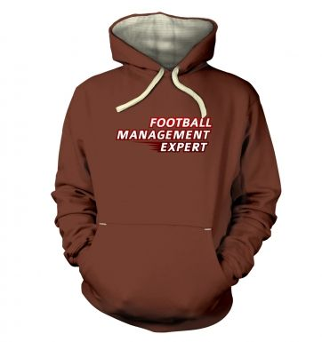 Football Management Expert premium hoodie