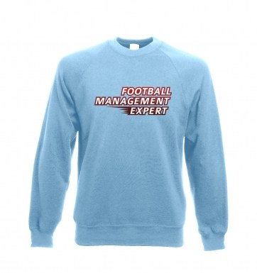 Football Management Expert sweatshirt