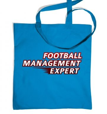 Football Management Expert tote bag