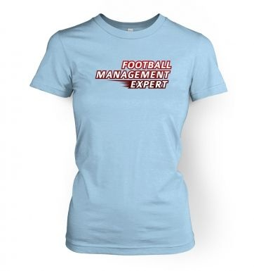 Football Management Expert women's t-shirt
