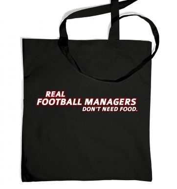 Football Managers Need No Food tote bag