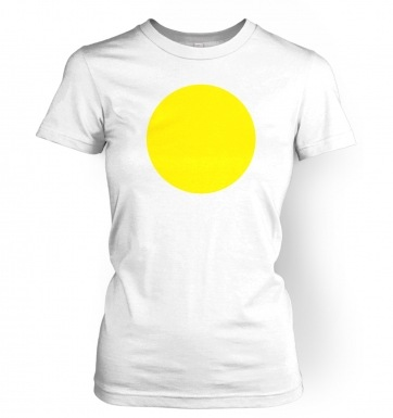 Fried Egg Costume women's t-shirt