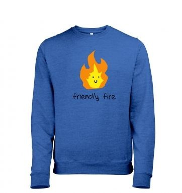 Friendly Fire heather sweatshirt