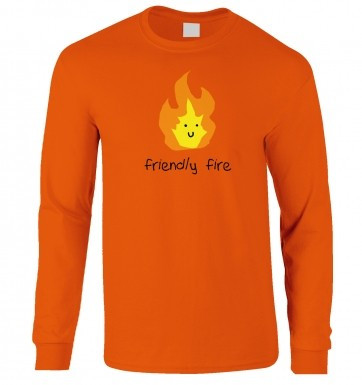 Friendly Fire long-sleeved t-shirt
