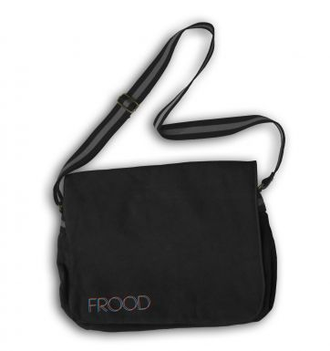 Frood (orange) messenger bag