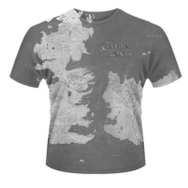 Game Of Thrones Westeros  Mens T-shirt