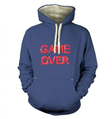 Game Over  hoodie (premium)