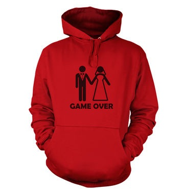 Game Over Couple hoodie