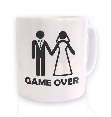 Game Over Couple mug