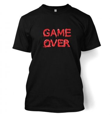 Game Over Adult  T-shirt