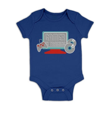 Gamer In Training baby grow