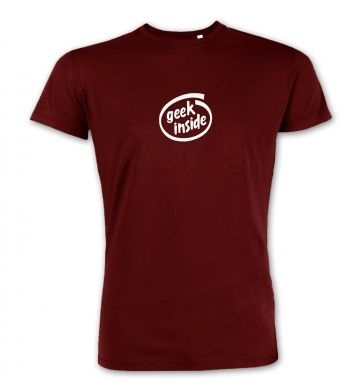 Geek Inside (small)  premium t-shirt