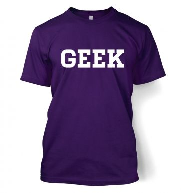 Geek men's t-shirt