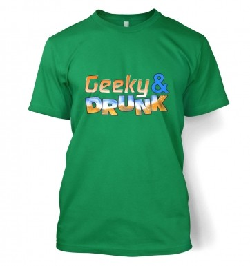 Geeky And Drunk t-shirt
