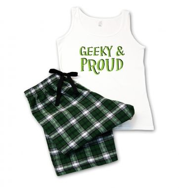 Geeky & Proud Ladies' Pyjamas