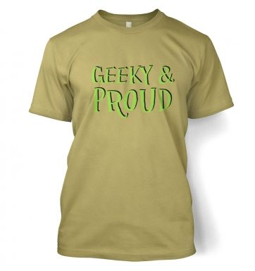 Geeky & Proud t-shirt