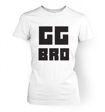 GG Bro womens t-shirt