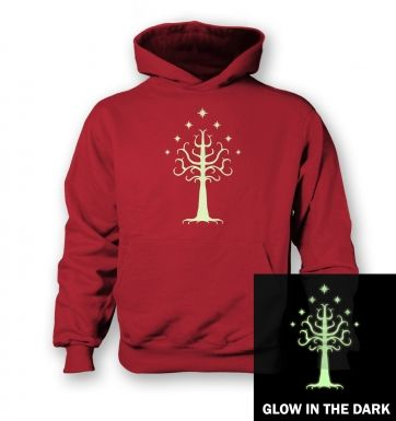 Glowing Tree of Gondor  kids hoodie