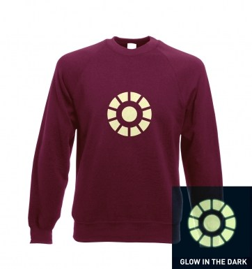 Arc Reactor (glow in the dark) sweatshirt