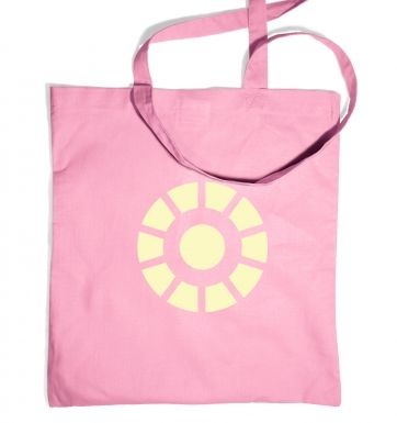 Arc Reactor (glow in the dark) tote bag