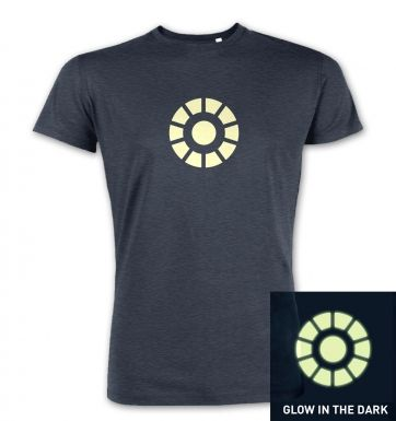 Arc Reactor (glow in the dark) premium t-shirt