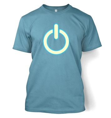 Glow In The Dark Power Symbol t-shirt
