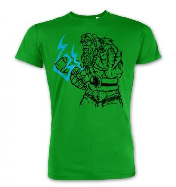 God of Thunder Lineart Thor premium t-shirt
