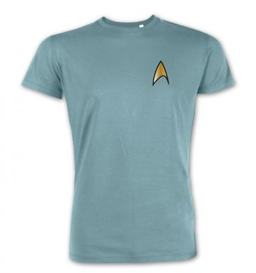 Gold Starfleet Badge  premium t-shirt