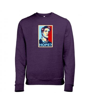 Governor Retro Poster heather sweatshirt