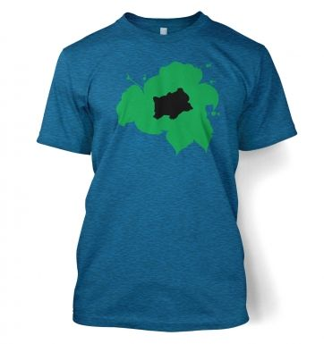 Green Bulbasaur Silhouette t-shirt