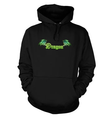 Green Dragon hoodie (with backprint)
