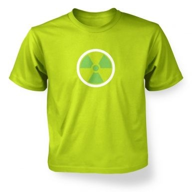 Green Radiation Symbol kids' t-shirt