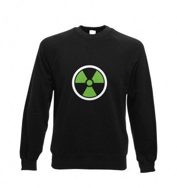 Green Radiation Symbol sweatshirt