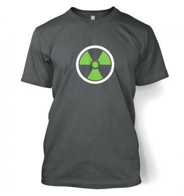 Green Radiation Symbol men's t-shirt