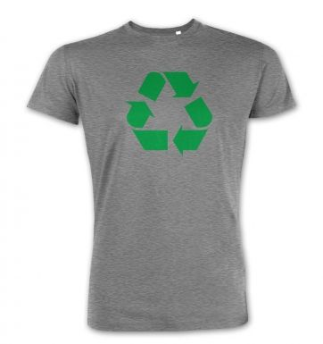 Green Recycling Symbol  premium t-shirt