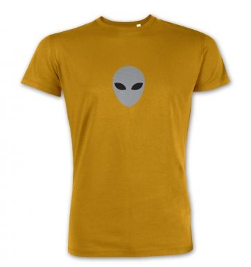 Grey Alien Head premium t-shirt
