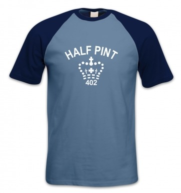 Half Pint short-sleeved baseball t-shirt